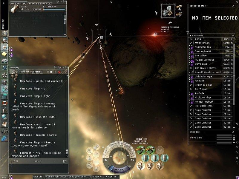 Eve Online Combat Eve Online Gang Killing Spree