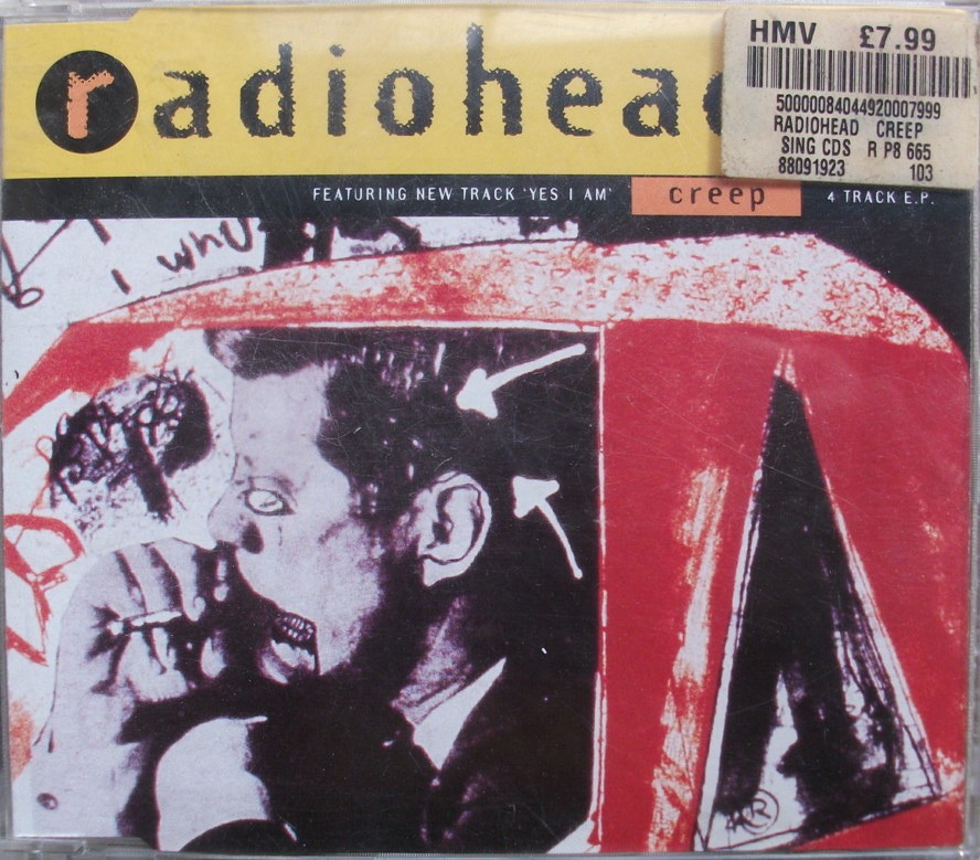 Radiohead Netherlands/German CD Single - Creep