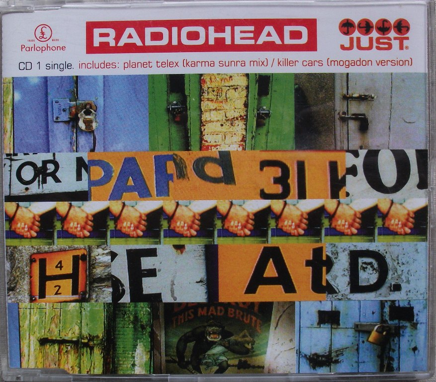 Radiohead CD Single - Just CD1