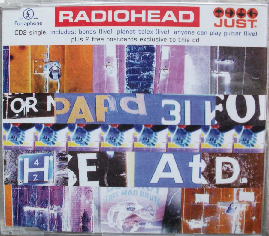 Radiohead CD Single - Just CD2