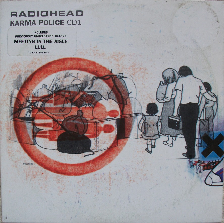 Radiohead CD Single - Karma Police CD1