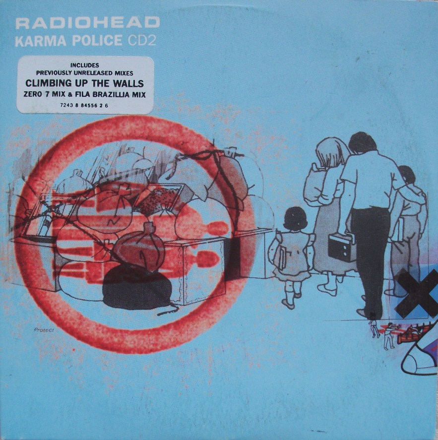 Radiohead CD Single - Karma Police CD2