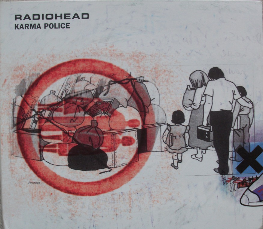 Radiohead CD Single - Karma Police - Australian