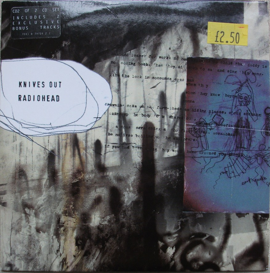 Radiohead CD Single - Knives Out CD2