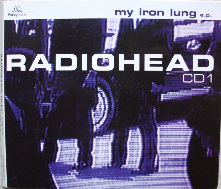 Radiohead UK CD Single - My Iron lung CD1