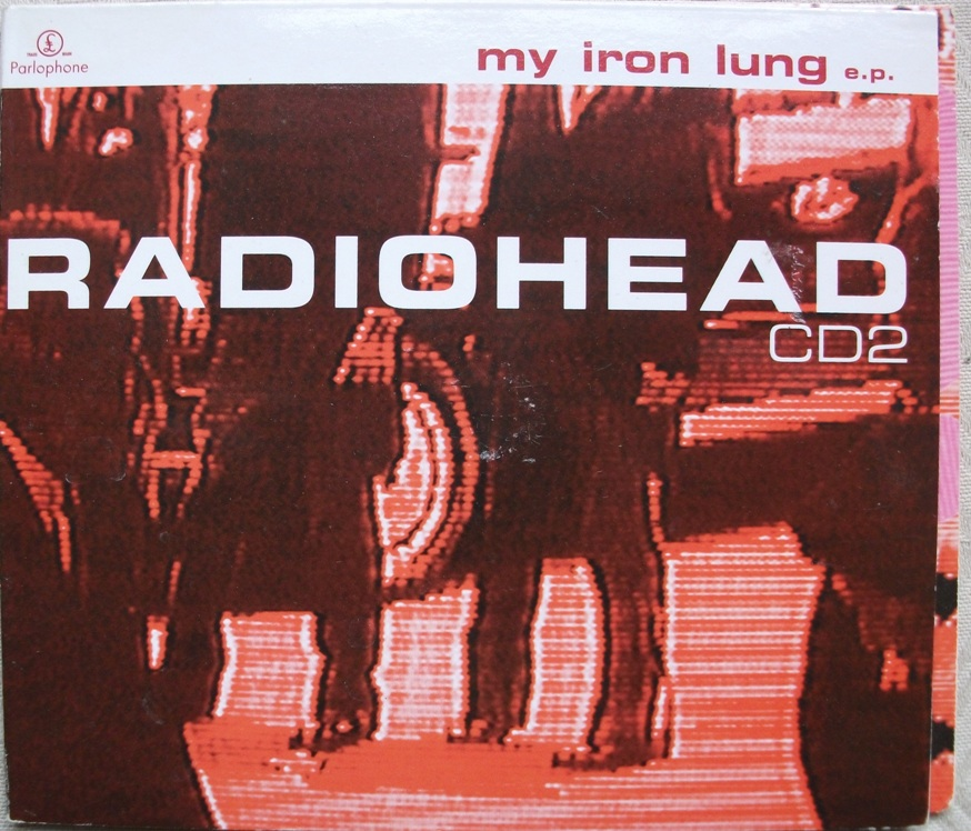 Radiohead UK CD Single - My Iron lung CD2