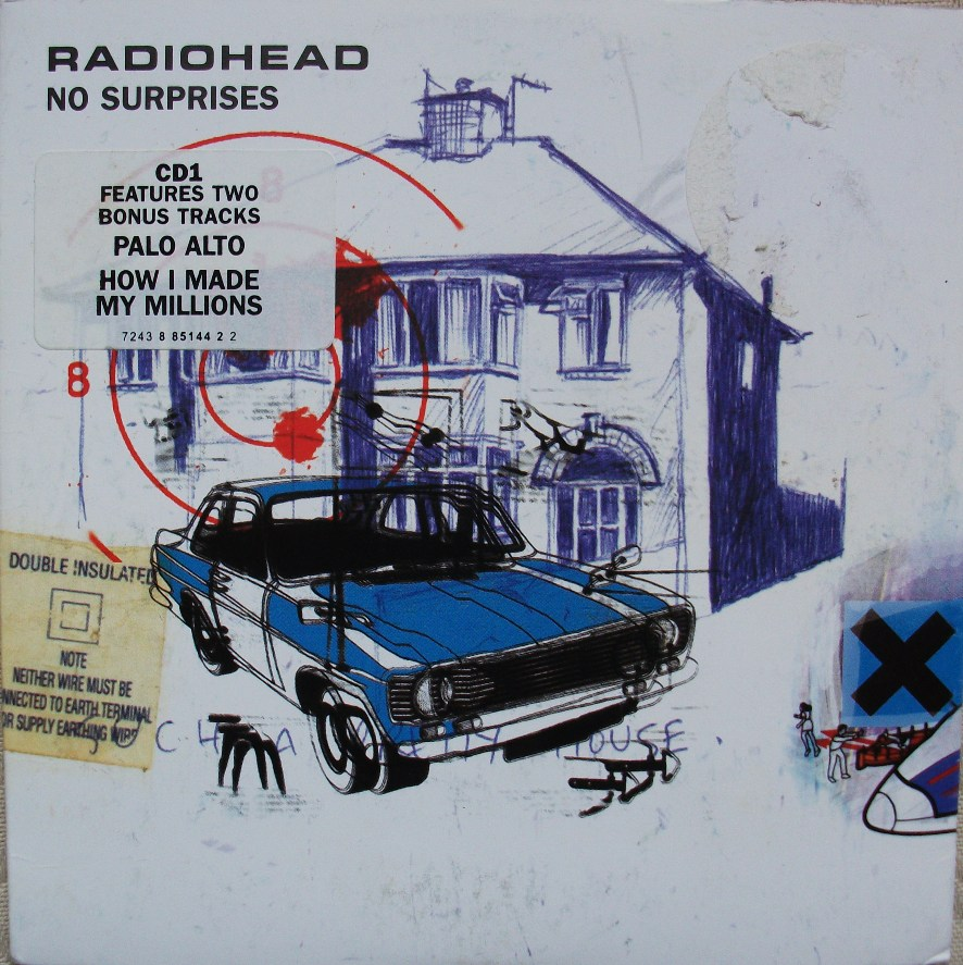 Radiohead CD Single - No Surprises CD1
