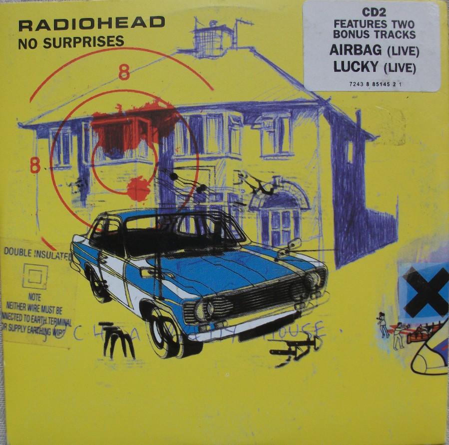 Radiohead CD Single - No Surprises CD2