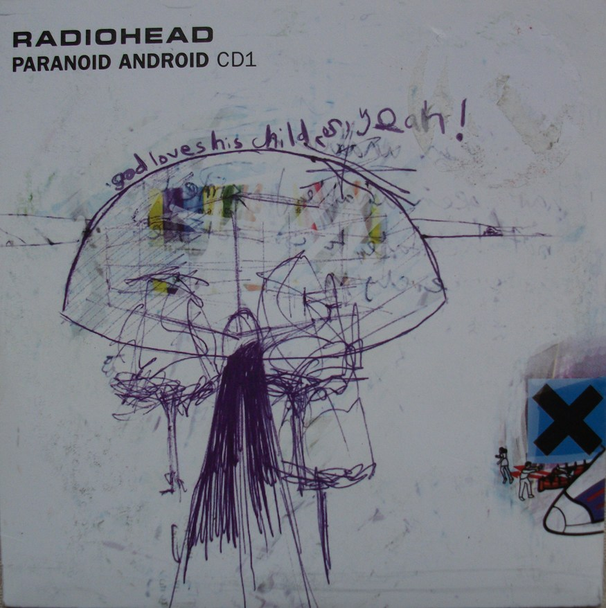 Radiohead CD Single - Paranoid Android CD1