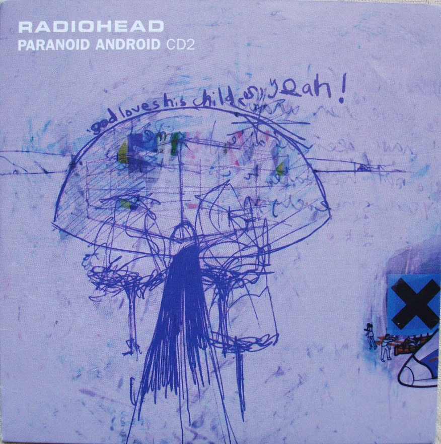 Radiohead CD Single - Paranoid Android CD2