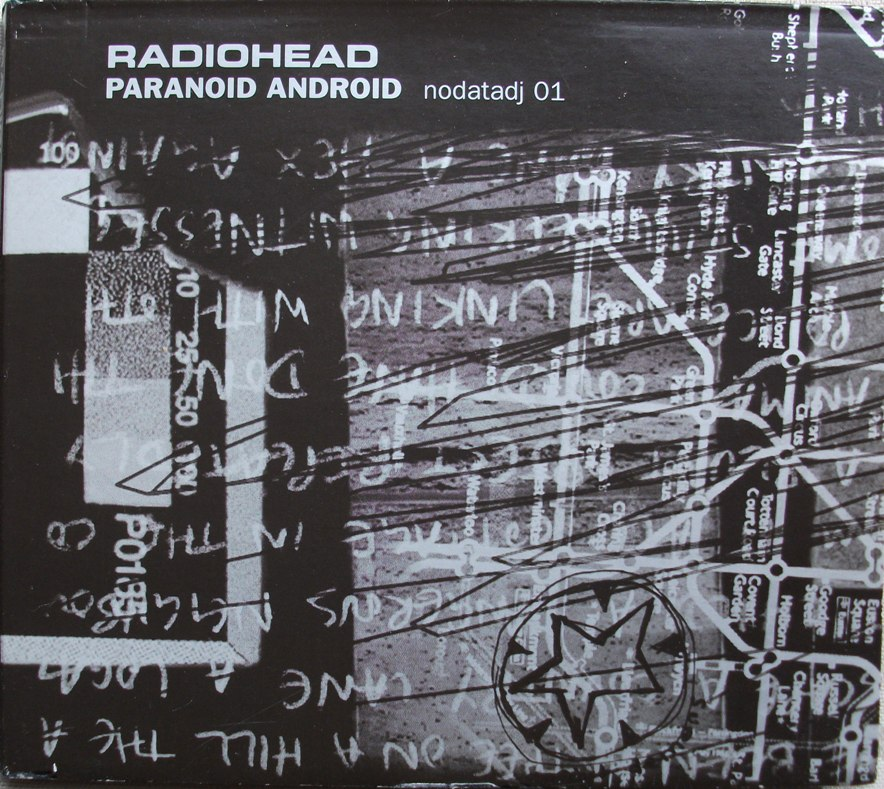 Radiohead CD Single - Paranoid Android Promo