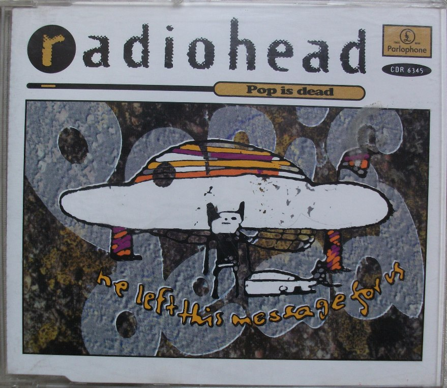 Radiohead UK CD Single - Pop is Dead