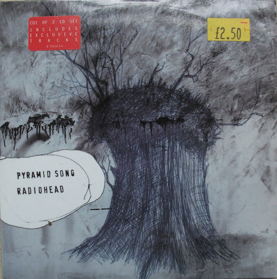 Radiohead CD Single - Pyramid Song CD2
