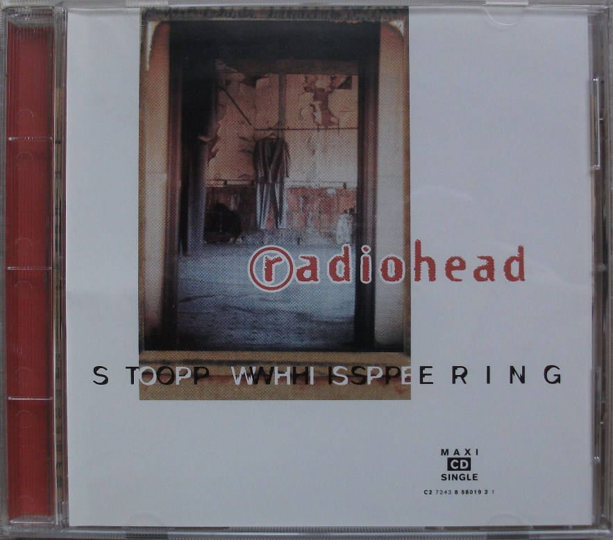 Radiohead US CD Single - Stop Whispering