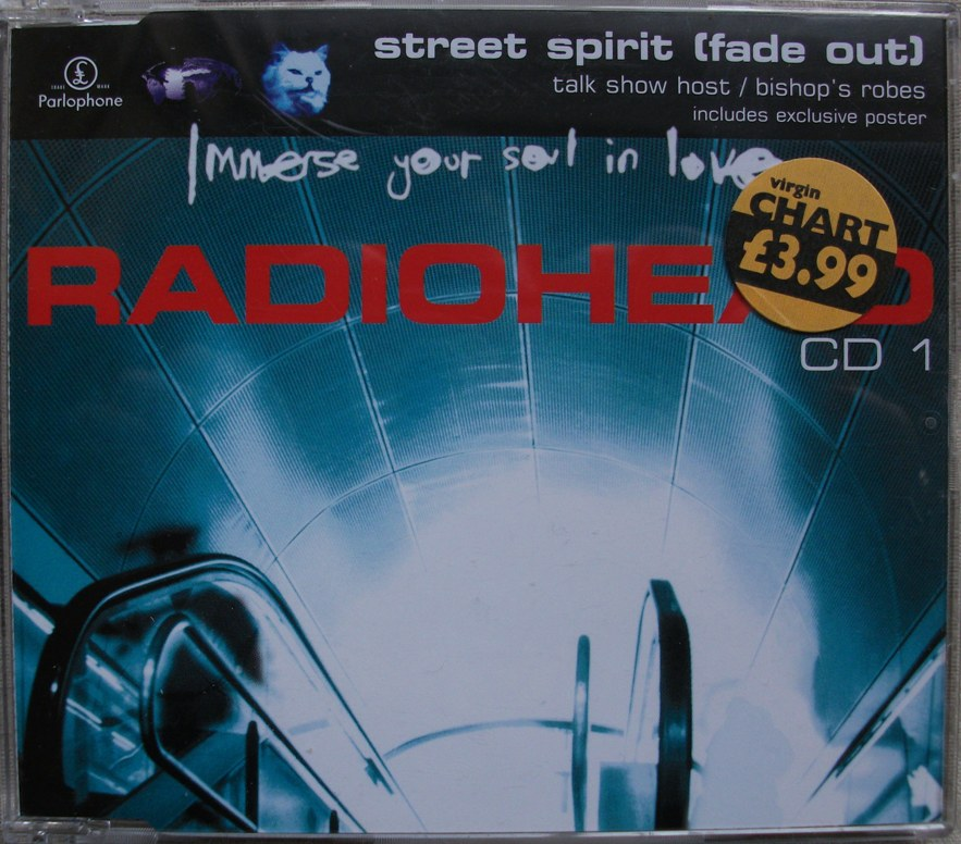 Radiohead CD Single - Street Spirit CD1