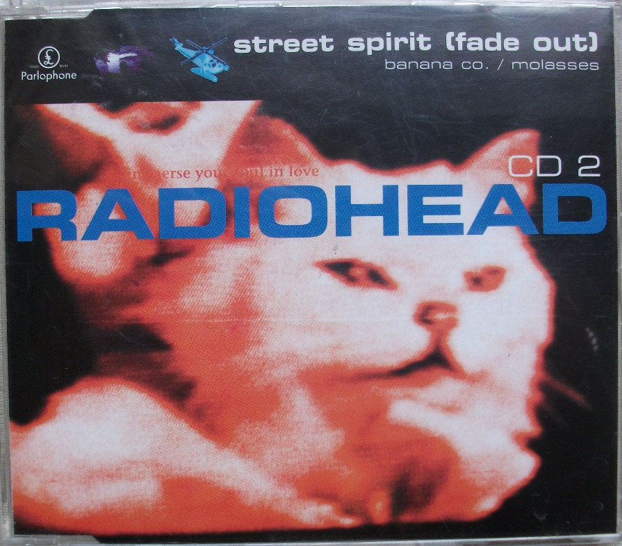 Radiohead CD Single - Street Spirit CD2