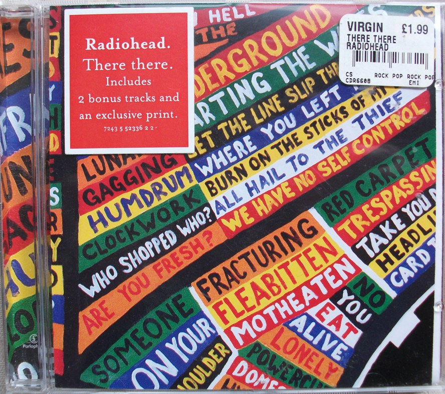 Radiohead CD Single - There There - UK