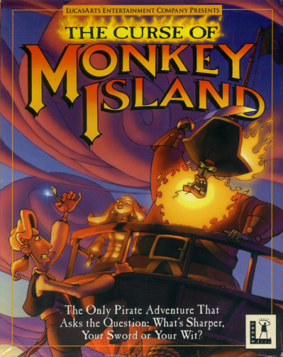 Curse of Monkey Island Game Cover