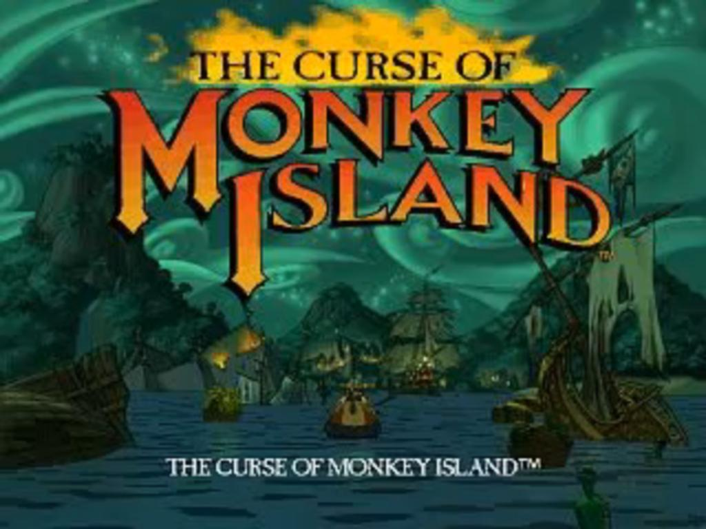 Curse of Monkey Island Loading Title Screen