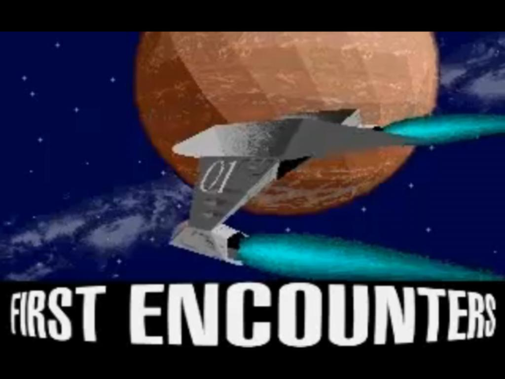 Frontier First Encounters Loading Title Screen