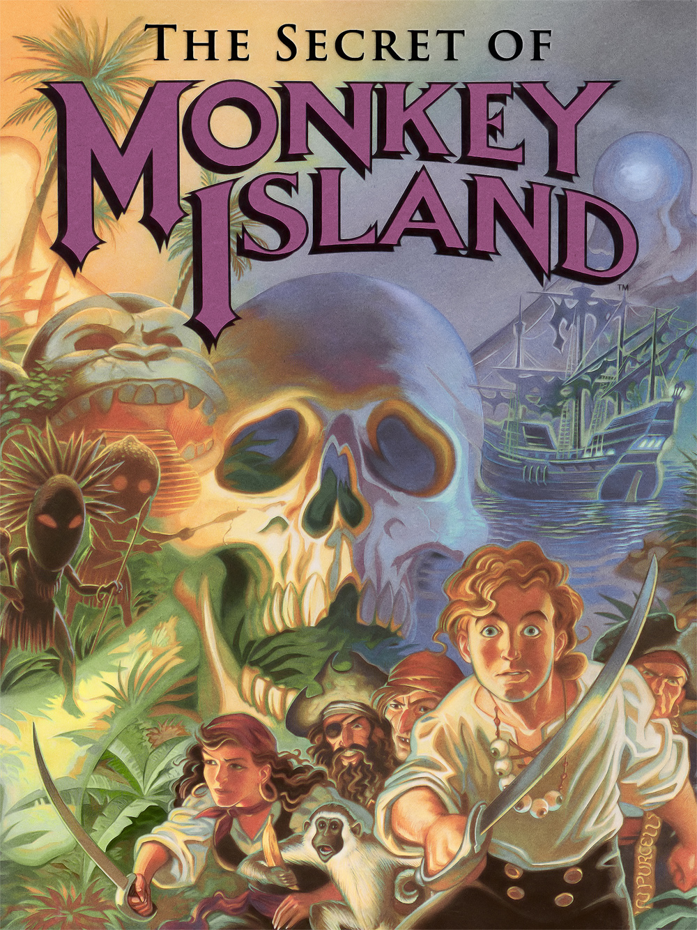 Monkey Island I Game Cover