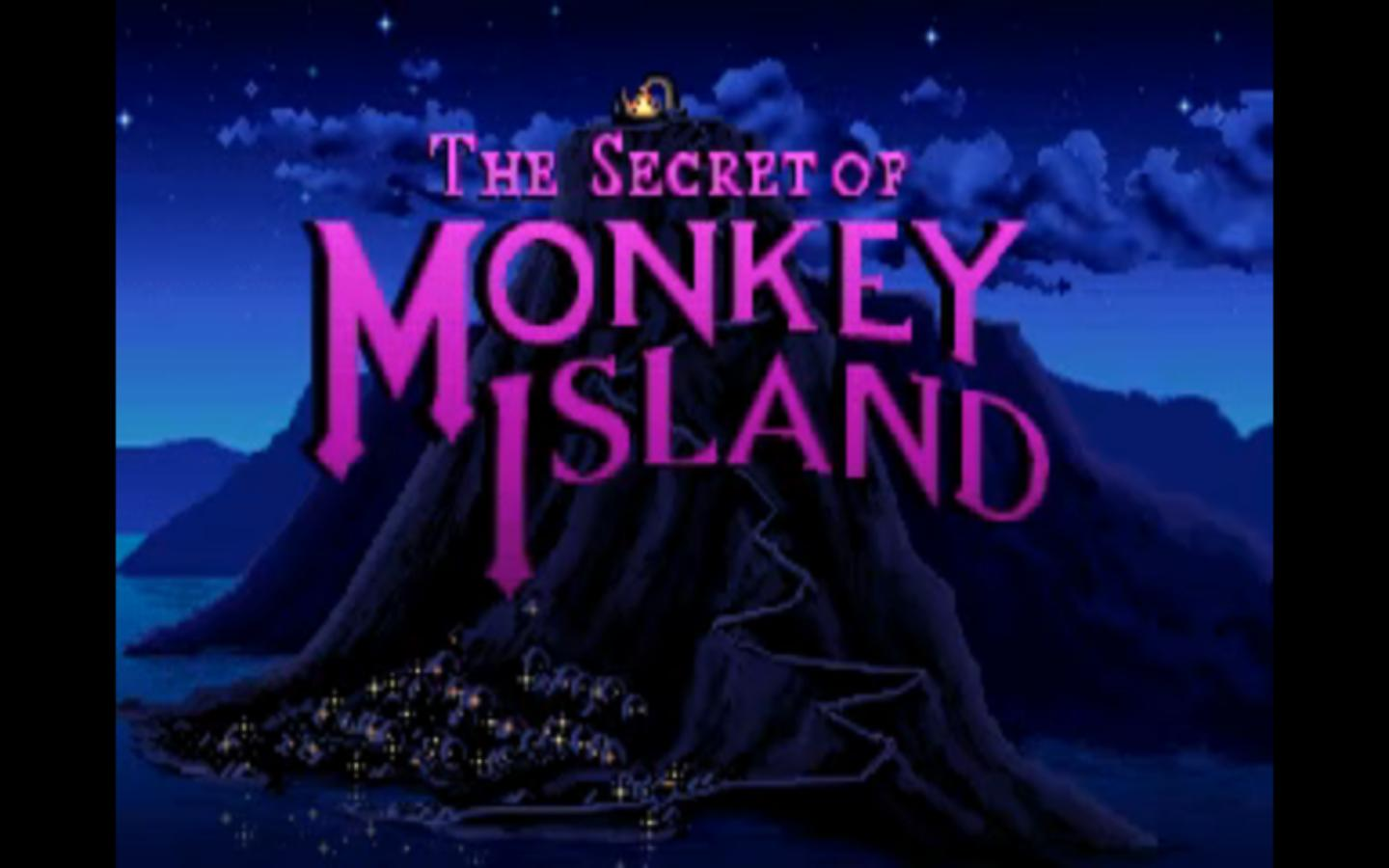 Monkey Island I Title Screen