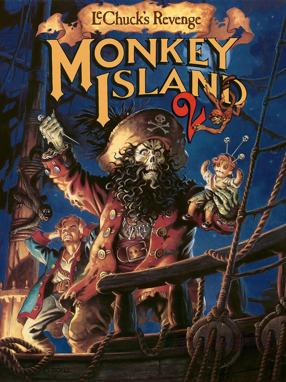 Monkey Island II Game Cover
