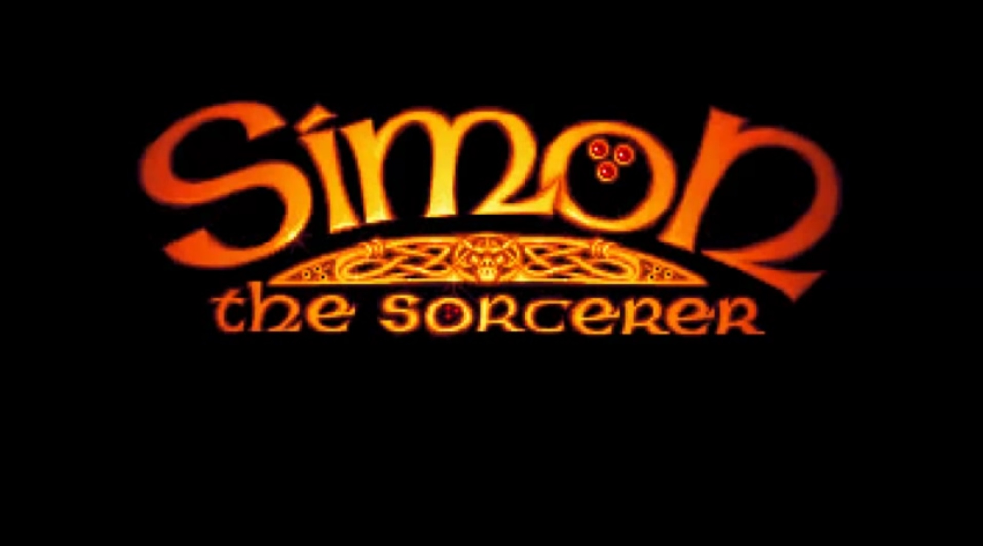 Simon The Sorcerer I Title Screen