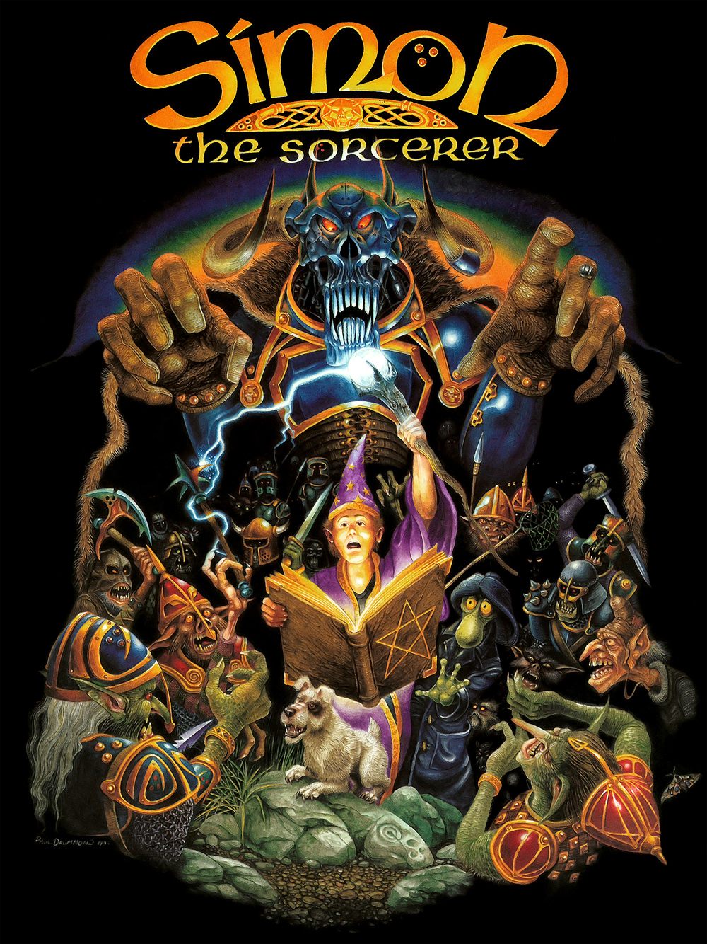 Simon The Sorcerer I Cover