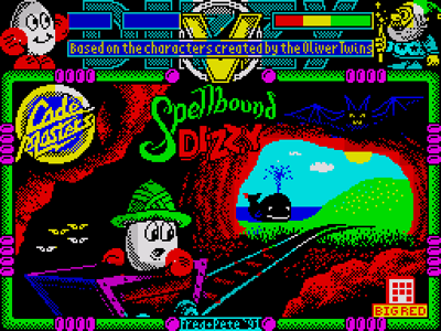 Spellbound Dizzy Loading Title Screen