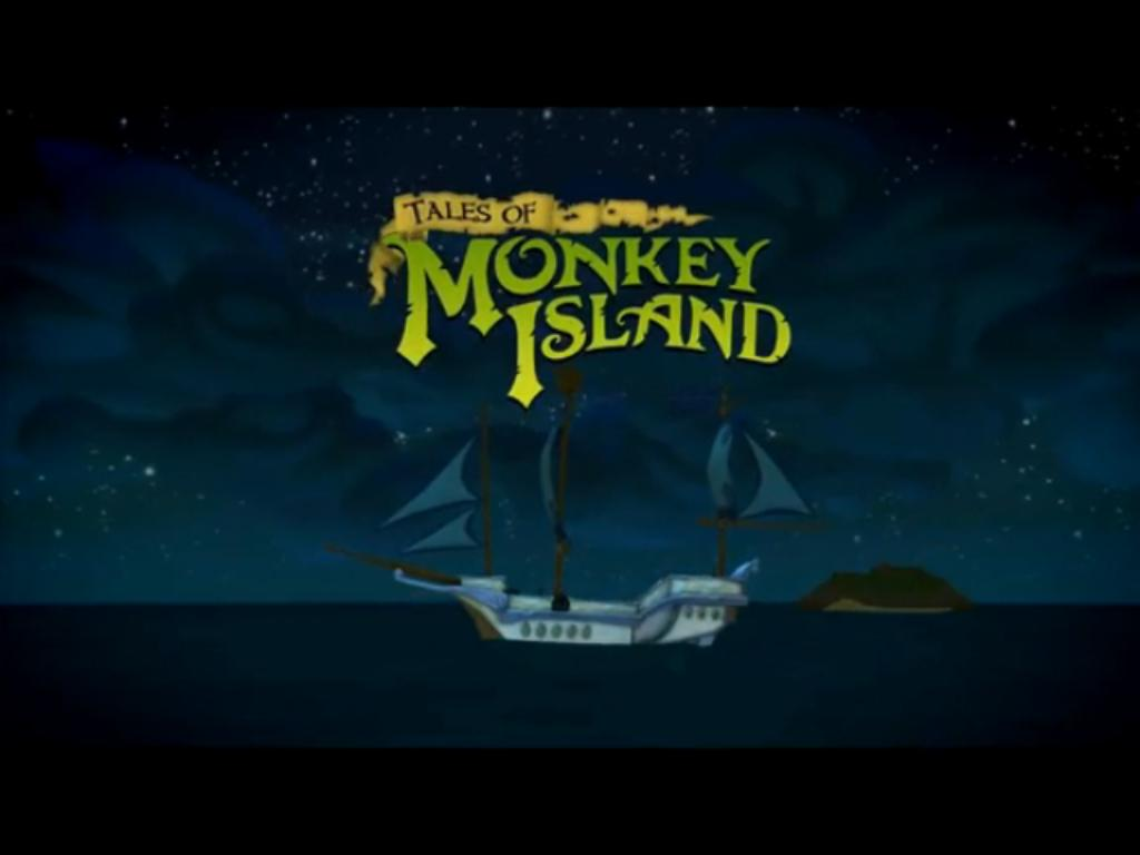 Tales of Monkey Island Loading Title Screen