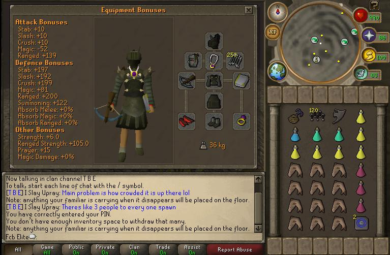 Armadyl God Wars Guide Invent