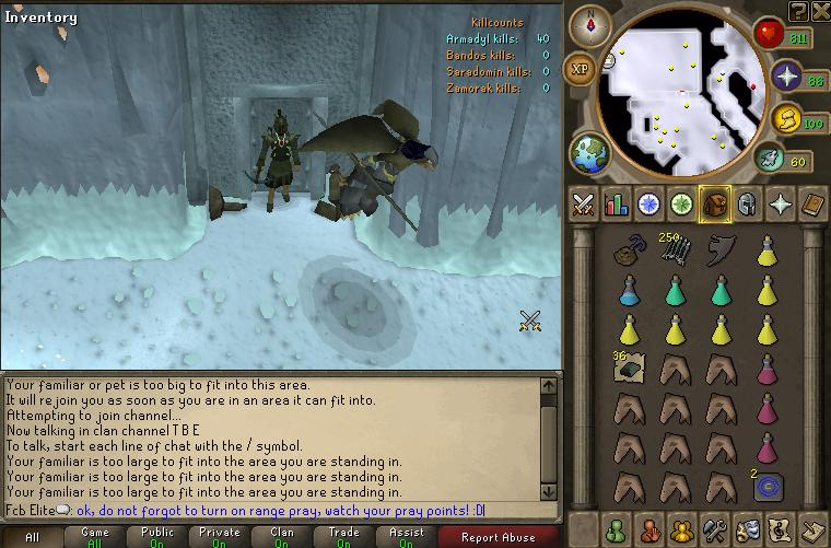 Armadyl God Wars Guide Door to the Lair