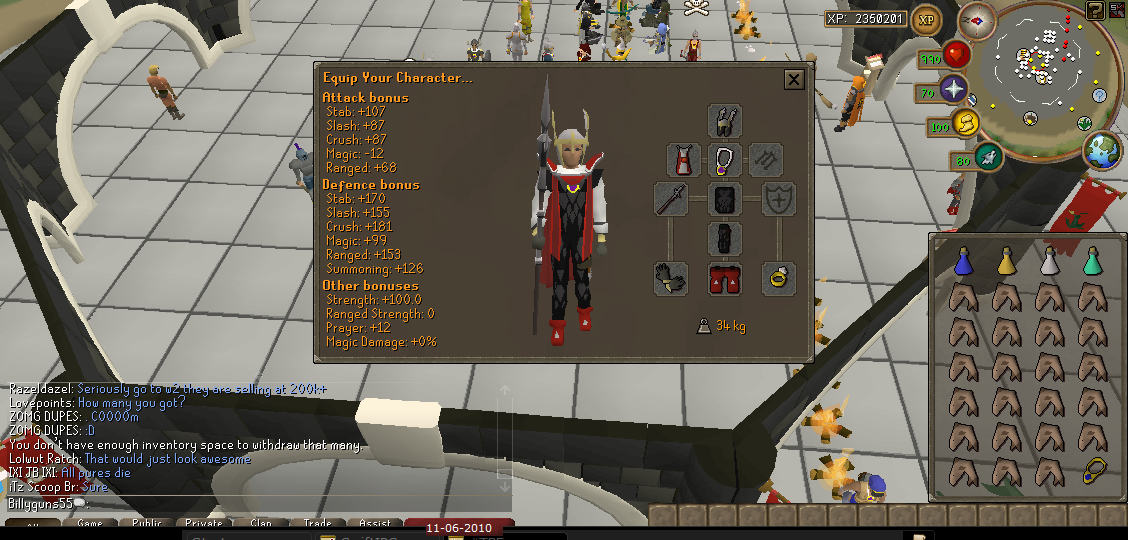 Corp Beast Melee Gear Setup - Super Set Setup