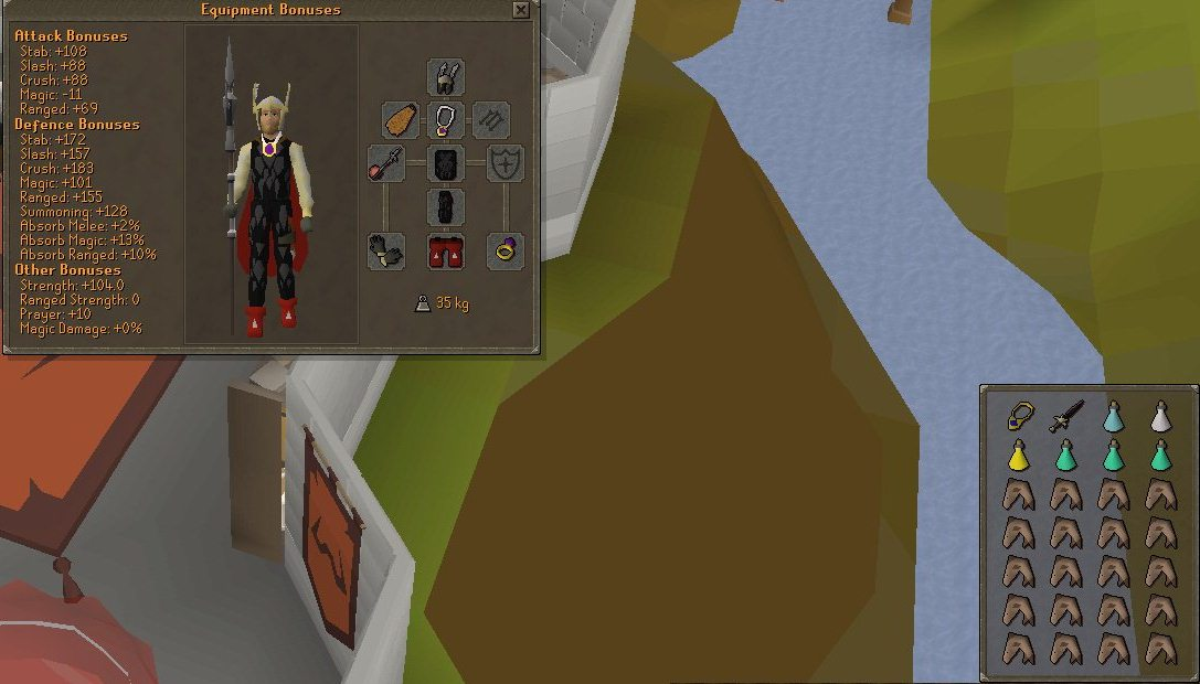 Corp Beast Melee Gear Setup - Extreme Set