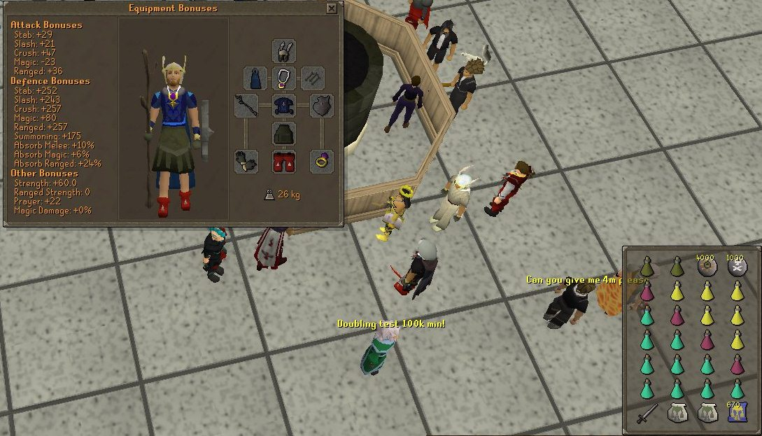 Dagannoth Kings Mage Setup 1 - Slayer Dart/ Magic Dart