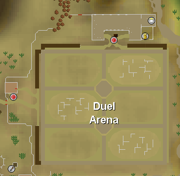 How to get to the Runescape Duel Arena