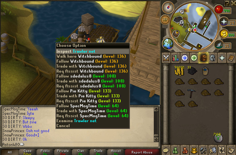 How to claim fishing trawler reward