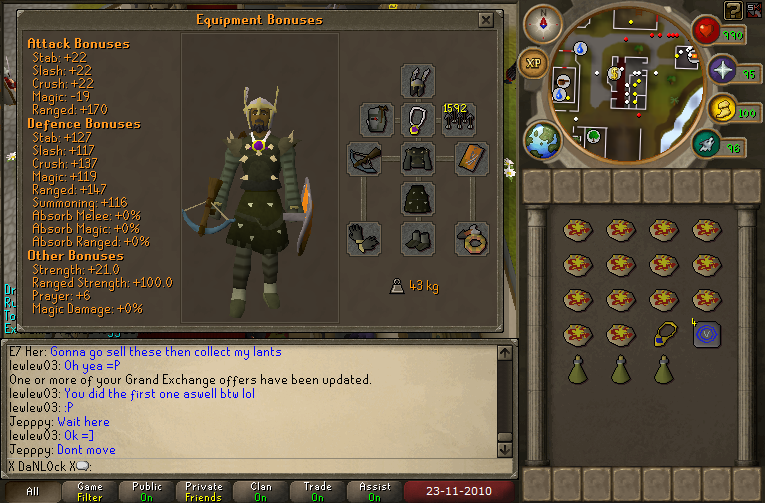 KBD Range Gear and Invent