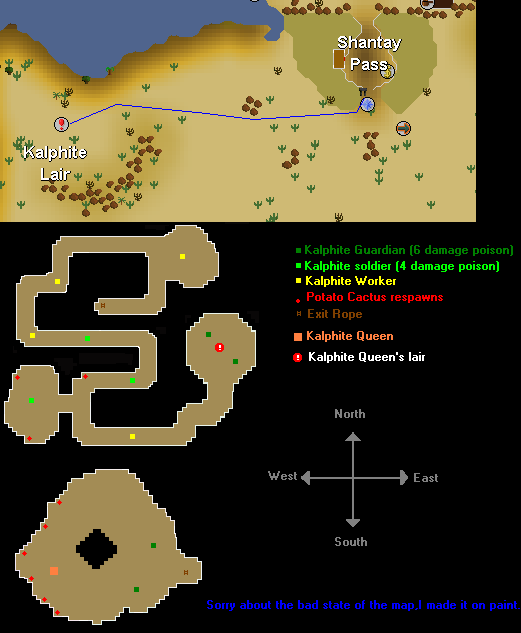 How To Get To Kalphite Queen (KQ)