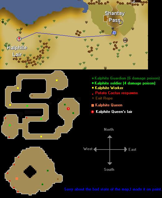 How To Get To Kalphite Queen (KQ)