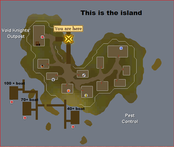 Void Knight Pest Control Island