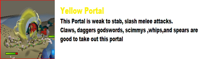 Void Knight Pest Control Portal Weaknesses - Yellow