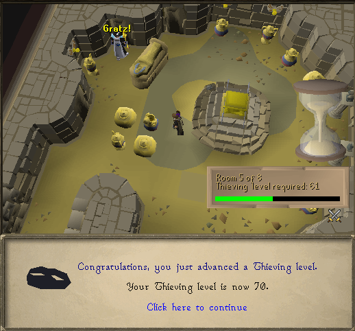 70 Thieving In a Tomb At Pyramid Plunder