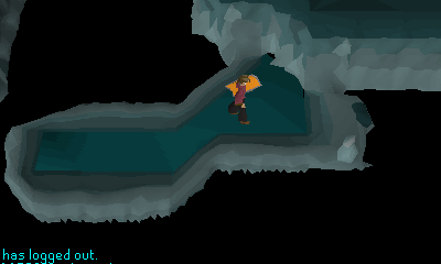 Inside the whirlpool waterfiend cavern
