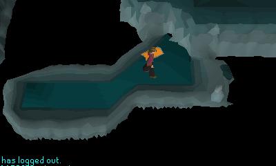 Inside the whirlpool waterfiend cavern