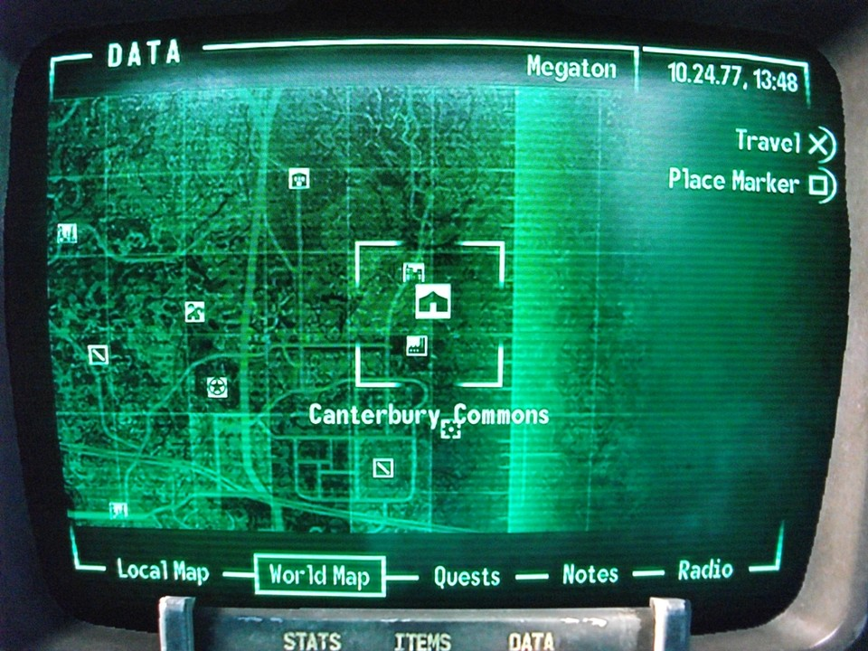 Fallout 3 Map To Canterbury Commons
