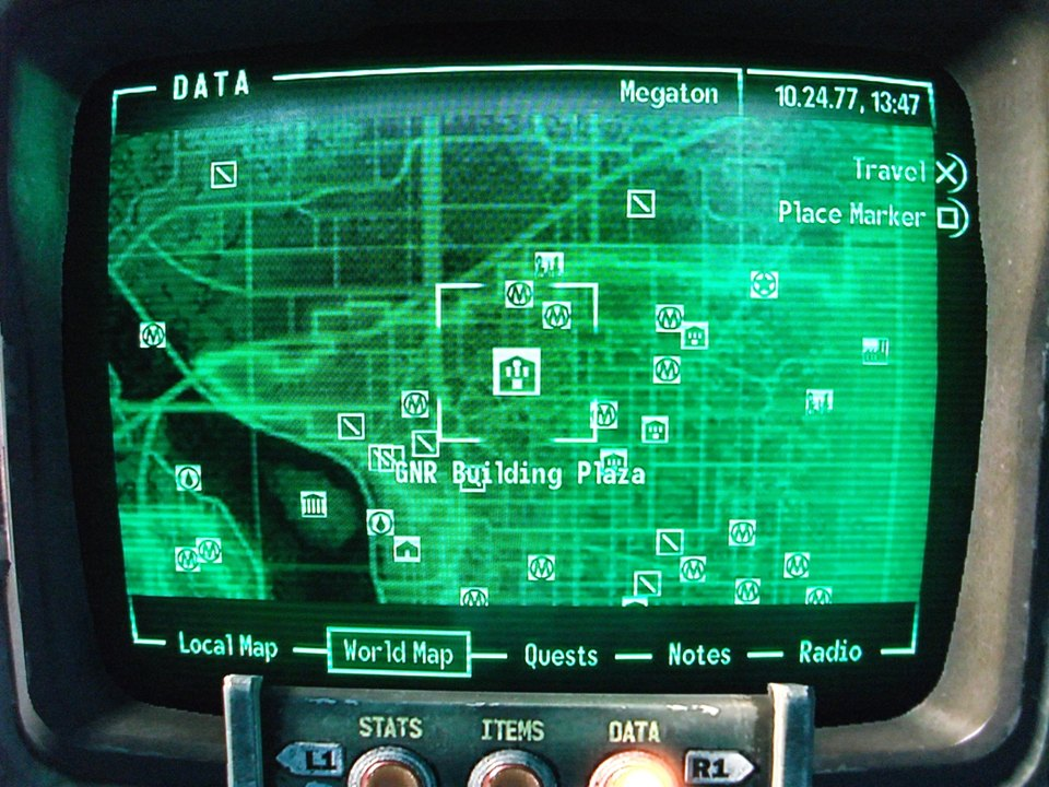 Fallout 3 Map To Galaxy News Radio