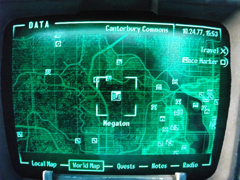 Fallout 3 Map To Megaton