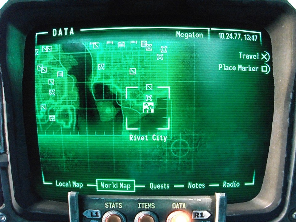 Fallout 3 Map To Rivet City